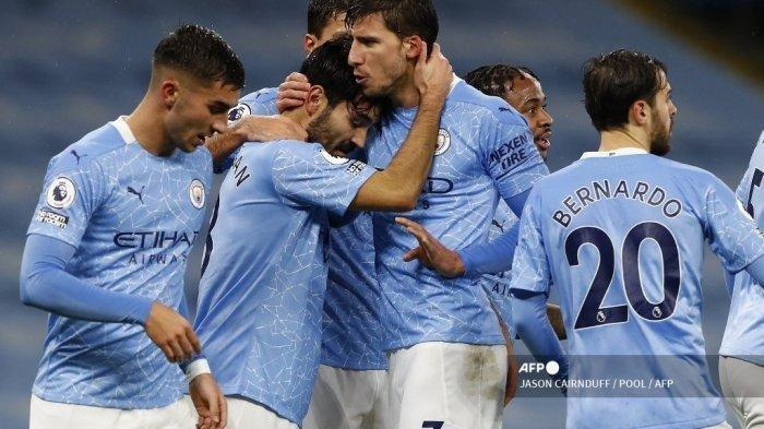 HASIL Manchester City vs Brighton Liga Inggris, Phil Foden Bawa The Citizens Unggul di Babak Pertama