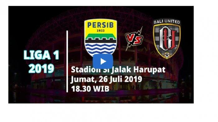 LIVE STREAMING Persib Vs Bali United, Kick Off Babak I, Pasukan Robert Rene Dinaungi Rekor Buruk