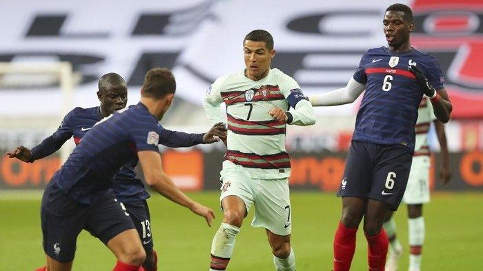 LIVE STREAMING Portugal Vs Prancis Euro 2020 Grup F, Kick Off Pukul 02.00 WIB, Link RCTI dan Mola TV
