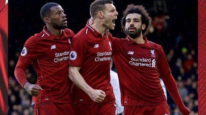 Wijnaldum dan Milner Berebut Satu Tempat di Lini Tengah Liverpool