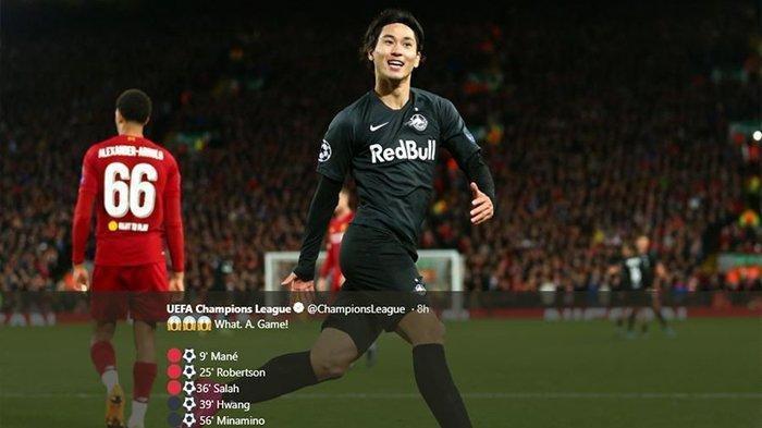 Liverpool Siap Tebus Klausul Pelepasan Gelandang Serang Asal Jepang dariRB Salzburg