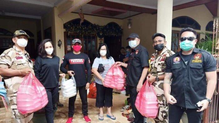 LMI Terus Lanjutkan Aksi Peduli Bencana di Manado, Turun Langsung ke Lokasi