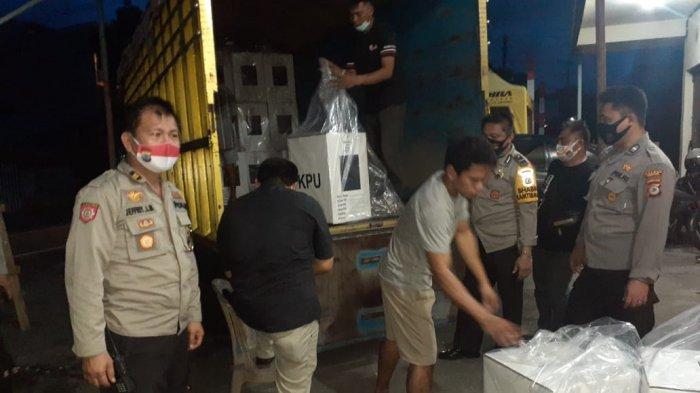 Logistik Pilkada Sudah Didistribusikan ke-8 Kecamatan di Minsel