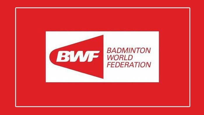 Logo BWF Berikut Pernyataan BWF Terkait Dikeluarkannya Tim Indonesia di All England 2021.