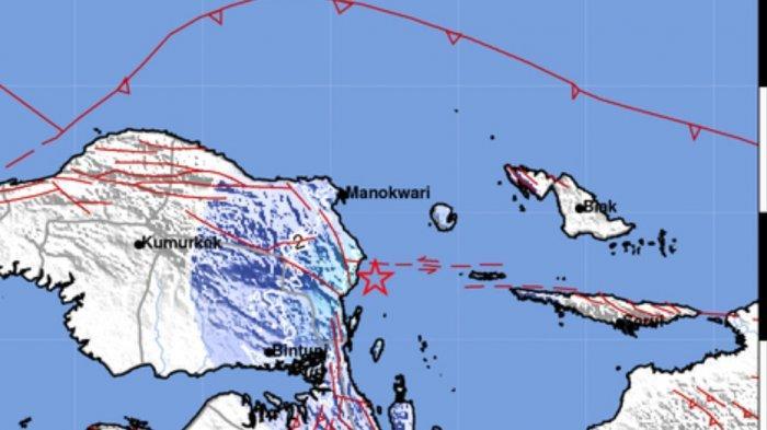 Gempa Bumi dini hari ini Jumat 7 Mei 2021.
