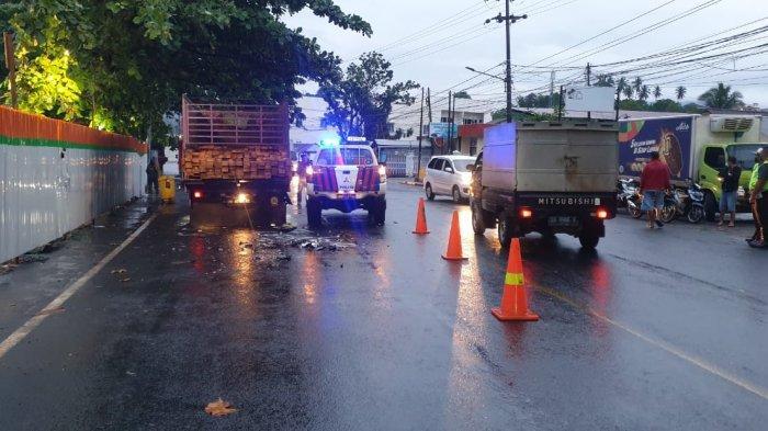 Kronologi Kecelakaan Lalu Lintas di Malalayang Manado, Korban Tabrak Truck Hingga Tewas
