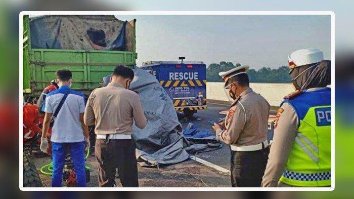 Kecelakaan Maut, Honda Jazz Tabrak Fuso, Sopir Truk: Saya Kira Ban Meledak