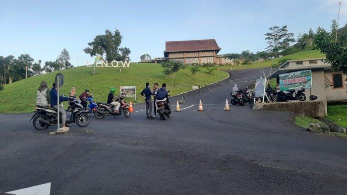 Lokasi Wisata Danau Linow Tomohon Tutup, Pengunjung Balik Arah