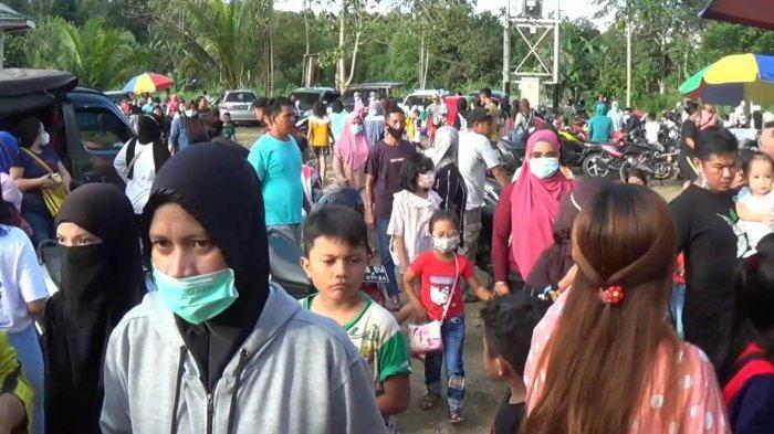 Warga Bandel tak Patuhi Prokes di Lokasi Wisata Pemandian Blessing, Humas: Sudah Kami Peringatkan