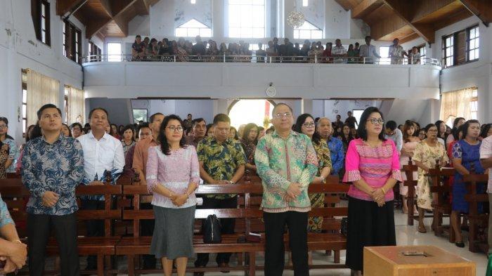 Lolowang Sebut Bangkit dan Terus Maju, HUT ke-141 Jemaat GMIMIni!