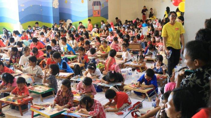 Lomba Mewarnai dan Menggambar Nutrikidz Festival, 20.000 Peserta Terpilih 300 Finalis