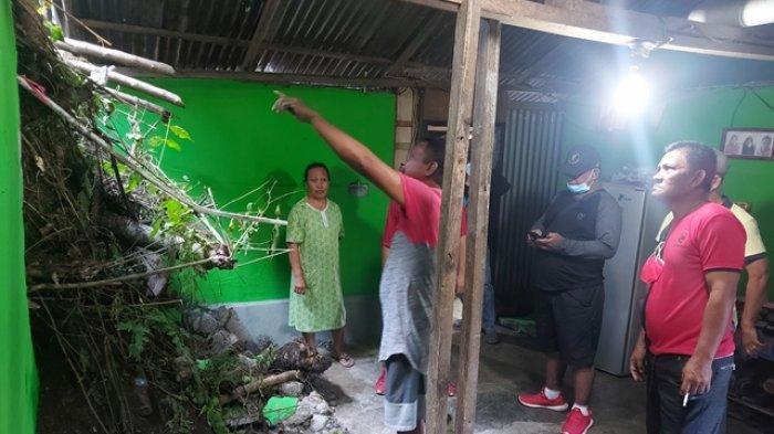 Keluarga Korban Tanah Longsor di Kelurahan Pateten Diimbau Pindah