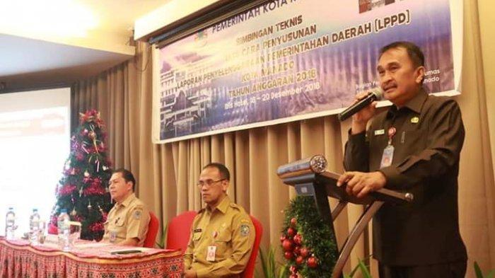 Sekkot Manado Buka Bimtek Tata Cara Penyusunan LPPD Tahun 2018
