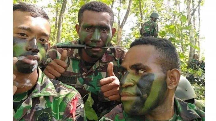 Lucky Matuan, mantan Prajurit <a href='https://manado.tribunnews.com/tag/tni' title='TNI'>TNI</a> yang <a href='https://manado.tribunnews.com/tag/membelot' title='membelot'>membelot</a> jadi anggota <a href='https://manado.tribunnews.com/tag/kkb-papua' title='KKBPapua'>KKBPapua</a>.