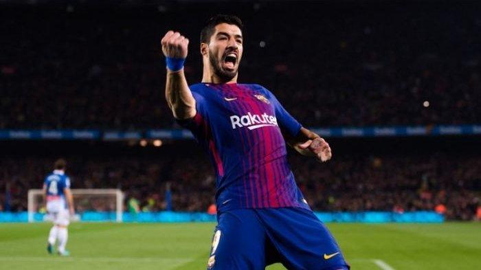 VIDEO - Gol Keren Suarez ke Gawang Mallorca Sudah Pernah Dilatih