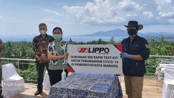Lumentut : Terima Kasih Siloam Group Telah Berikan 300 Alat Rapid Test Sangat Bermanfaat