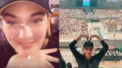 Fans Berat, Luna Maya Rela Terbang ke Thailand Hanya Untuk Nonton Konser BTS