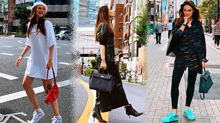 Luna Maya Tenteng Tas Mini Saat Liburan ke Tokyo, Harganya Capai Ratusan Juta Rupiah