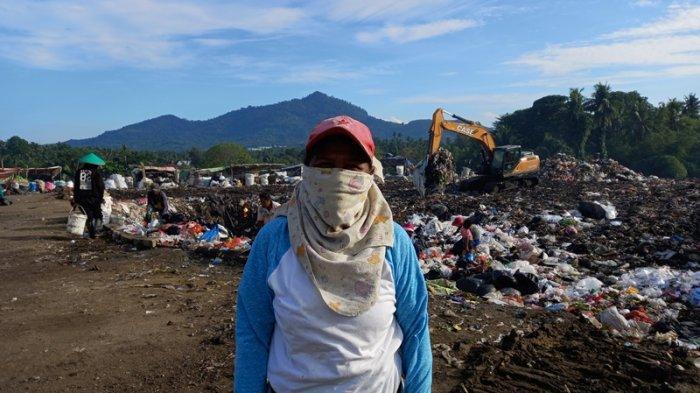 Cerita Lusye Pemulung di TPA Sumompo, Sebut Masker dan Sampah Medis Jangan Dibuang Tapi Dibakar