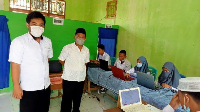Madrasah AliyahAl-Hidayah Duminanga Bolsel, Gelar Asesmen Nasional Berbasis Komputer