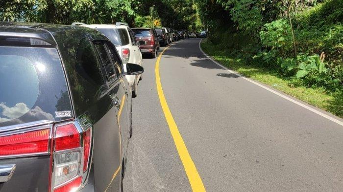 Pengucapan Syukur di Sulawesi Utara, Macet Parah di Jalan Raya Manado Tomohon