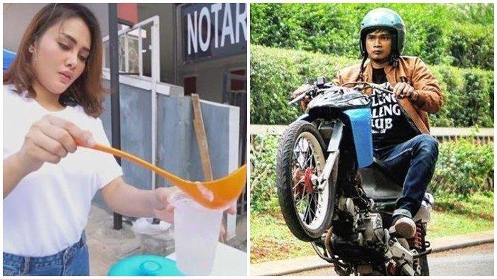Sosok Intan Ratna Istri Maell Lee Bukan Kaleng-Kaleng, Tak Lagi Dinafkahi, Kini Jualan Es Kelapa