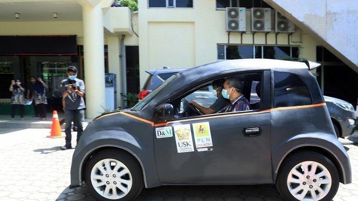 Mahasiswa di Aceh Berhasil Ciptakan Mobil Listrik, Diberi Nama Glueh, Berikut Spesifikasinya!