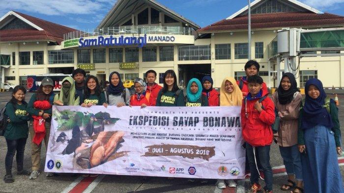 Ekspedisi Sayap Bonawa MPA Lawalata IPB Teliti Maleo di TN Bogani Nani Wartabone