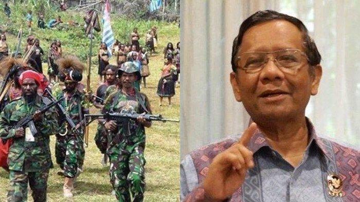 Bahas KKB Papua, Mahfud MD Sebut 417 Orang dan 99 Organisasi Masuk DTTOT: 'Kok Nggak Diributkan?'
