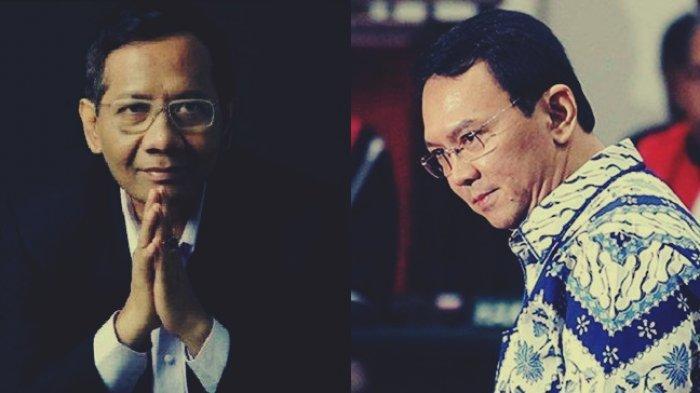 Mahfud MD Dukung Ahok jadi Komisaris Pertamina Namun Tolak jadi Presiden dan Menteri