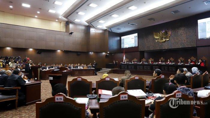 UPDATE Sidang Sengketa Pilpres: Bukti Link Berita Prabowo-Sandi Disebut Langgar Aturan MK