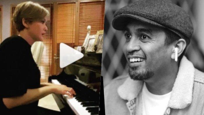 Maia Estianty Kenakan Busana Serba Hitam, Nyanyikan 'Lagu Penghormatan' untuk Alm Glenn Fredly