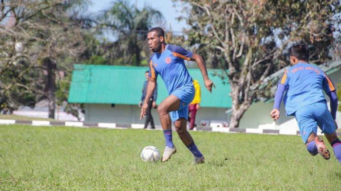 Selesai Nikah, Maichel Rumere Langsung Bergabung Latihan Bersama Sulut United