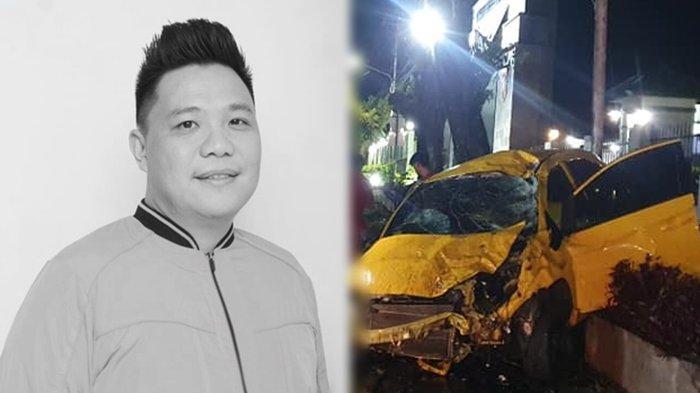 Maikel Maringka Anggota DPRD Manado yang tewas kecelakaan di Depan Kodam