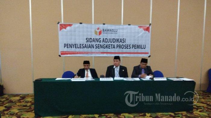 Gerindra, Hanura dan Nasdem Ajukan Ajudikasi Terkait Proses Rekapitulasi KPU Manado