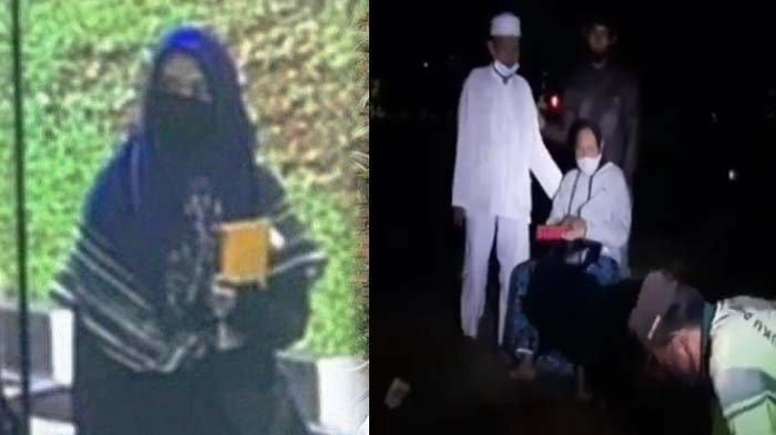 Orang Tua ZA Pelaku Penembakan di Mabes Polri Menangis di Makam, Ibu : Kok Kamu Jadi Gini
