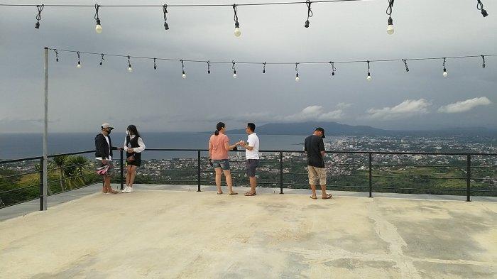 Foto Keindahan Pemandangan dari Makatete Hills Provinsi Sulut, Kawasan Wisata Bukit di Minahasa