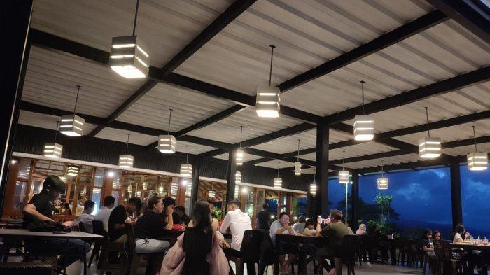 Suasana Objek Wisata Makatete Hills Manado pada Sabtu 09 Oktober 2021