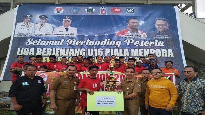 Laga U-16 Piala Menpora, PS Manado Tekuk PS Talaud 4 - 2
