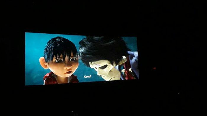 Anak-Anak Yang Diundang YKAKI Senang Saat Nonton Film Disney 'Coco'