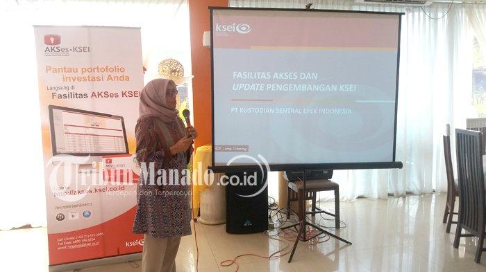 KSEI Sosialisasi Perlindungan Investor Pasar Modal di Manado