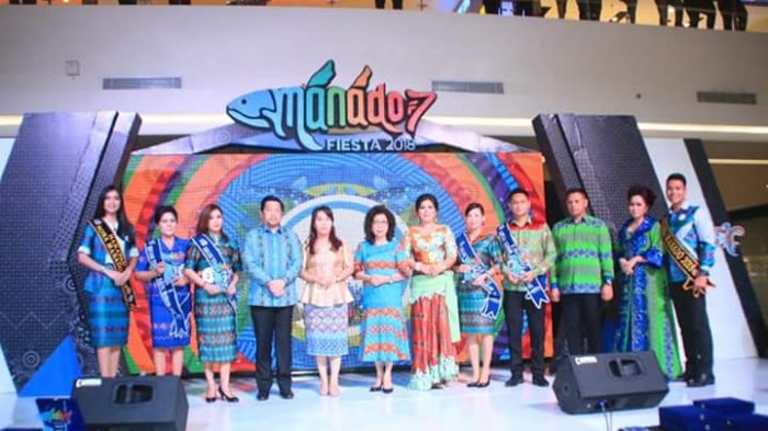 Rangkaian Festival Fashion Manado Fiesta 2018, Inilah Pemenang Lomba Fashion Show Kaeng Manado