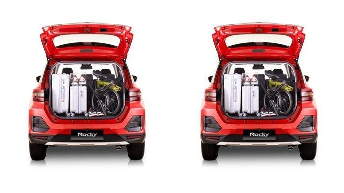 Manajemen Daihatsu (Ki-Ka) Toshinori Edamoto, President Director PT Astra Daihatsu Motor (ADM); Erlan Krisnaring, Vice President Director ADM; dan Supranoto, Chief Executive PT Astra International Tbk – Daihatsu Sales Operation (AI-DSO) memperkenalkan Daihatsu Rocky.