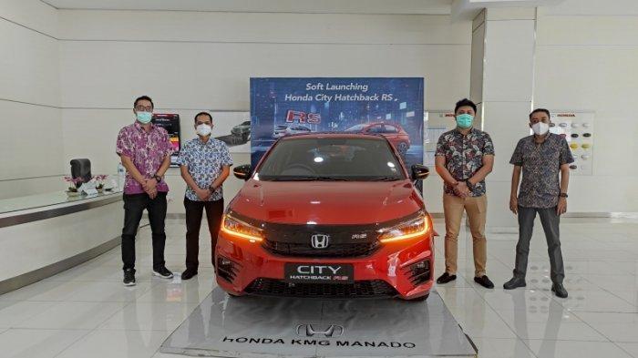 Belum Sebulan Launching, Honda City Hatchback RS Laris Manis di Sulut