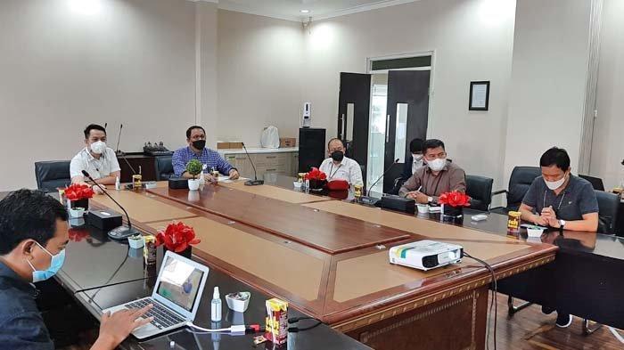 Manajemen Tribun Manado Silaturahmi dengan GM PLN Suluttenggo