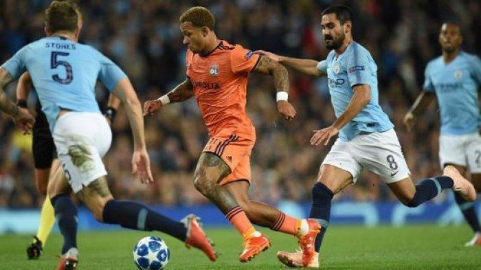 Man City vs Lyon, Duel Pembunuh Raksasa