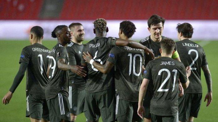Hasil Liga Eropa Granada vs Manchester United, Satu Langkah MU Sukses, Rekor Marcus Rashford