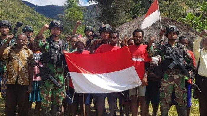 Teroris KKB Papua Kembali ke NKRI, Tabuni Ngaku Hampir Mati Tersiksa dan Ditipu, Ini Ikrar Setianya