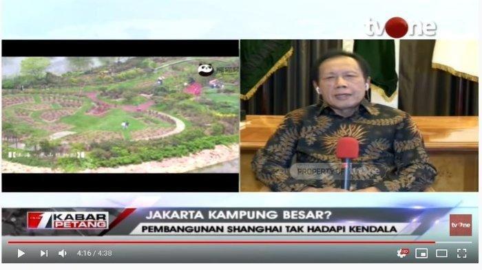 Jakarta seperti Kampung, Mendagri: Pak Anies Sering ke China, Mantan Gubernur DKI Sutiyoso Merespon