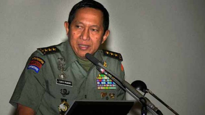 Suryo Prabowo Tagih Janji Jokowi soal Kenaikan Tunjangan TNI-Polri